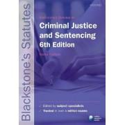 Blackstone's Statutes on Criminal Justice & Sentencing by Nicola Padfield