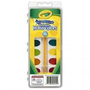 Bulk Buy: Crayola Washable Watercolors 16 Colors/Pkg 53-0555 by Crayola