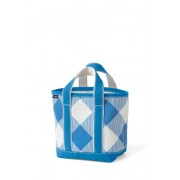 ランズエンド LANDS' END ランズエンド・トート/プリント/オープントップ/スモール/トートバッグ(ブライトボーリアルブルーギンガム)