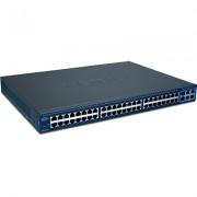 SWITCH, TRENDnet TEG-2248WS, 48-Port 10/100, Web Smart Switch w/ 4 Gigabit Ports and 2 Mini-GBIC Slots