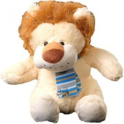 Lion wearing Scarf (20cm)