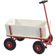 Outdoor Wooden Cart Natural ZT2143
