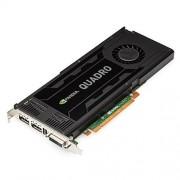 PNY NVIDIA QUADRO K4000 Carte Graphique Professionnelle 3 Go GDDR5 PCI-Express 2 x DP + DVI + Stereo (VCQK4000-PB)