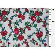 Vzorovaný polyester kašmírový vzor