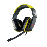 Tt eSPORTS HT-SHK002ECYE Thermaltake SHOCK Gaming Headset, Yellow
