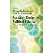 Research Design in Political Science 2007 by Thomas Gschwend