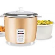 Panasonic SR WA22H(AT) Electric Rice Cooker(2.2 L, Rust Brown)