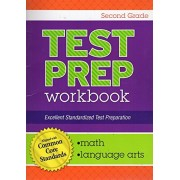 Standardized Math and Language Arts Test Preparation ~ Aligned with Common Core Standards (Second Grade)