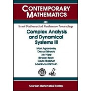 Complex Analysis and Dynamical Systems III by Mark Agranovsky