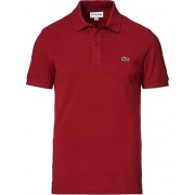 Lacoste Slim Fit Polo Bordeaux Red