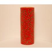 col. art nouveau rosu-005a