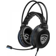 Casti Gaming Sharkoon Skiller SGH1 (Negru/Albastru)