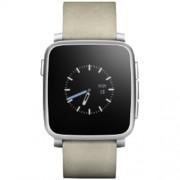 Smartwatch TIME STEEL Argintiu PEBBLE