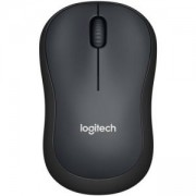 Мишка Logitech, Wireless Mouse M220 Silent, Черна, 910-004881