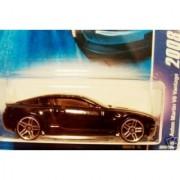 Black ASTON MARTIN V8 VANTAGE Hot Wheels 2008 All Stars Series 1:64 Scale Die Cast Collectible Car #050
