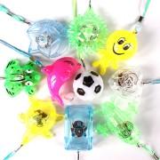 Kit 100 Colares Piscas Sortidos Para Festas, Casamentos, Aniversários