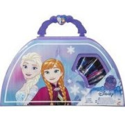 Set carte + jucarie disney frozen carry along art case