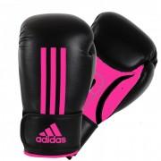 Adidas Energy 100 (Kick)Bokshandschoenen Zwart-Roze - 14 oz
