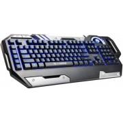 Tastatura Gaming Marvo KG735, Iluminata (Neagra)