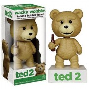 Ted 2 Wacky Wobbler Uncensored Talking Bobble-head Figure
