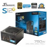Seasonic S12G series 750W PSU 80Plus Power Supply Unit