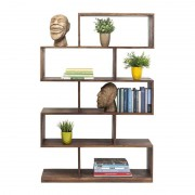 Kare Design Roomdivider hout Authentico Zig Zag