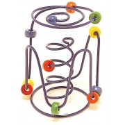 Educo Spring-A-Ling Small Wire Maze (styles and colors vary)