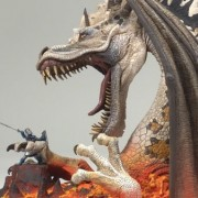 FIRE DRAGON CLAN 5 McFarlane's Dragons Series 5: The Fall of the Dragon Kingdom DELUXE ACTION FIGURE BOX SET by Unknown