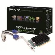 PNY NVIDIA NVS 300 PCIe x16 (2 Monitor) Retail 512Mb GDDR3, 64 bit, 2 x VGA, LowProfile