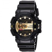 G-Shock Quartz Analog-Digital Black Round Dial Men's Watch GBA-400-1A9DR (G557)