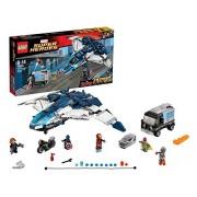 LEGO Super Heroes - Marvel - 76032 - Jeu de Construction - La poursuite du Quinjet des Avengers
