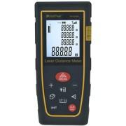HOLDPEAK 5040B Digitális lézeres távolságmérő 0.03-40m memória területtérfogat háromszög pontosság 1mm.