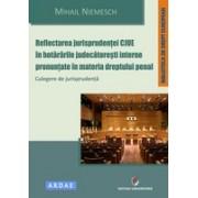 Reflectarea jurisprudentei CJUE in hotararile judecatoresti interne pronuntate in materia dreptului penal. Culegere de jurisprudenta