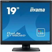 "IIYAMA Monitor LED Iiyama E1980SD-B1, 19 "", DVI, VGA, 1280 × 1024 px, 5:4, 5 ms"