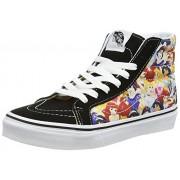 Vans Sk8-hi Slim, Sneaker uomo Nero Black (Disney - Multi Princess) 34.5