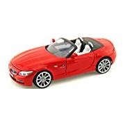 "Motormax GOTZMM73349RD 1:24 Scale Red ""2010 BMW Z4"" Die Cast Model Car"