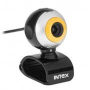 Camera web Intex KOM0313 USB Negru