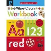 Scholastic Early Learners: Wipe Clean Workbook (Pre-School) by Make Believe Ideas