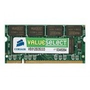 Corsair Value Select - DDR2 - 2 Go - SO DIMM 200 broches - 667 MHz / PC2-5300 - mémoire sans tampon - non ECC