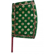 Apex Self Design Green Hand Fan(Pack of 1)