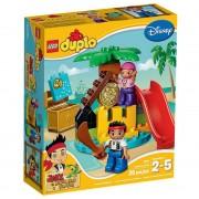 LEGO DUPLO Pirát Jake 10604 Ostrov pokladů