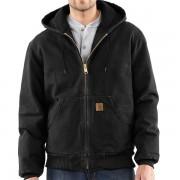 Carhartt Sandstone Active Jacket - Washed Duck Factory Seconds BLACK (27)