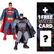 Superman & Batman: ~6.75 DC Collectibles Dark Knight Returns 30th Anniversary Action Figure Pack + 1 FREE Official DC Trading Card Bundle