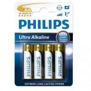 Philips 4 x bateria alkaliczna Philips Ultra Alkaline LR6 AA (blister)