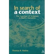 In Search of a Context by Thomas R. Hatina