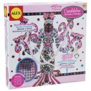 ALEX Toys Bling Along Candelabra Jewelry Holder Craft Kit