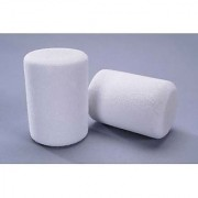Bulk Buy: Darice Foamies 3-D Shapes Marshmallow White 25 x 30mm 15 pieces (3-Pack) 1035-80