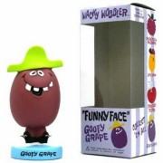 Funny Face Goofy Grape Bobblehead