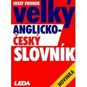 Comprehensive English-Czech Dictionary by Josef Fronek