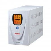 UPS V-Mark, UPS-1200VP, 1200VA, 8 min back-up (half load), LCD Display, Power Management Software - Cable (V-MARK)